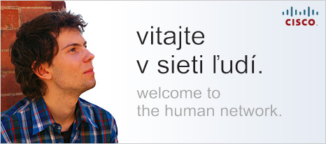Cisco - welcome to the human network